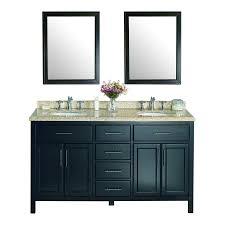 shop ove decors malibu dark espresso undermount double sink