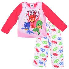 disney junior pj mask catboy gekko owlette girls pajama