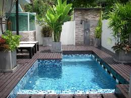 mini swimming pool designs easy outdoor living mini pools for