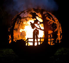 Burning Pit Of Fire - burning love fire pit fire places metals and gardens