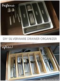 how to organise kitchen utensils drawer 10 to organized diy silverware drawer organizer