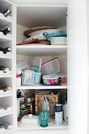 what to do with deep corner kitchen cabinets iheart organizing organized kitchen corner cabinet with a diy lazy