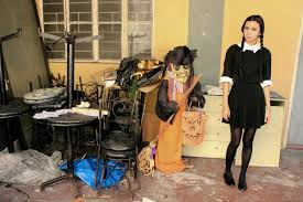 images of wednesday addams halloween costume 60 diy halloween