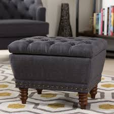 baxton studio 217 dark grey annabelle modern and contemporary