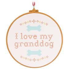 my granddog hallmark ornament gift ornaments hallmark