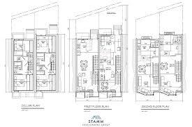 multi unit floor plans 1245 1247 n 28th st philadelphia pa 19121 stamm development group