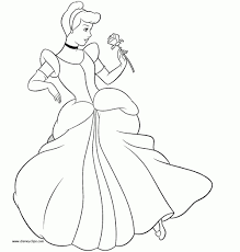 cinderella princess coloring pages cinderella coloring page
