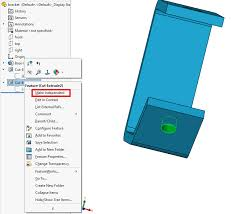 solidworks make independent context references computer aided