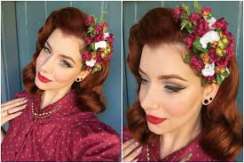 1940s hair accessories shazam pin up hair flowers miss victory violet