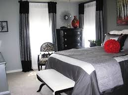 Gray And Red Bedroom red and white bedroom decorating ideas 1000 ideas about red