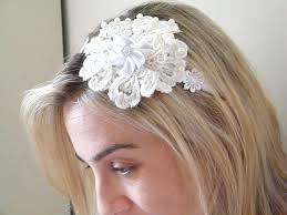 how to do the country chic hairstyle from covet fashion ehow wedding fascinator bridal lace headband vintage headband shabby