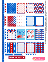 erin condren life planner free printable stickers free printable 4th of july stickers for erin condren life planner