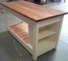 wooden kitchen island table rustic kitchen islands and carts foter