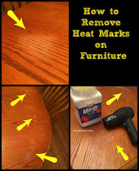 heat stain on wood table how to remove heat marks from furniture isavea2z com