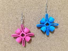 quiling earrings new quilling paper earring designs 2016 quilling designs