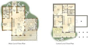 log home floor plans with main and lower ideas picture denali main large similiar log home floor plans with and lower keywords