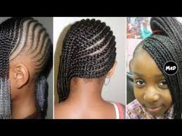 nigeria baby hairstyle for birthday braids for little girl hairstyles youtube