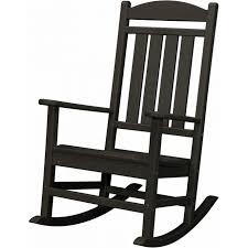 Swivel Rocker Patio Chair Furniture Swivel Wicker Patio Chairs Wooden Rocker Black Outdoor