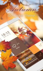 go locker apk free free autumn theme go locker 1 0 apk free personalization