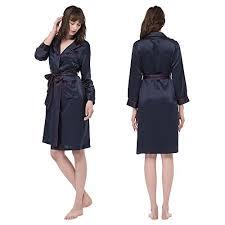 robe de chambre en soie lilysilk pyjama basique robe de chambre en soie pour femme avec