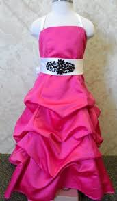 long pink dresses for weddings pageants or prom