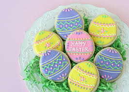 Decorating Easter Eggs Easy by Cute And Easy Decorated Easter Egg Cookies U2013 Glorious Treats