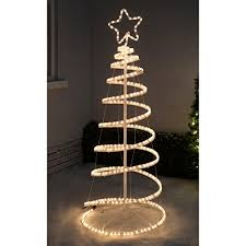 werchristmas 5ft 150 cm 3d spiral tree rope
