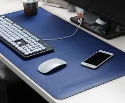 souris bureau grand tapis de souris de bureau en cuir pad mesure tapis de souris