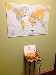 World Map Bulletin Board by A Prayer Map