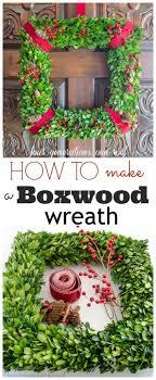 how to make a wreath how to make a wreath using boxwood christmas wreath pinning