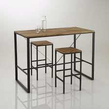 table de cuisine la redoute table bar haute hiba la redoute interieurs la redoute mobile