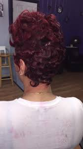 shortcut for black hair red hair shortcut african american black girls wavy short cut by
