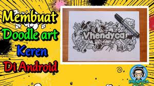 tutorial doodle art picsay pro cara membuat doodle art epic picsay pro youtube