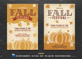 halloween flyer background template fall festival flyer flyer templates creative market