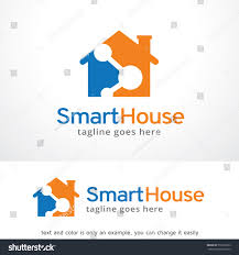 smart house logo template design vector stock vector 572216023