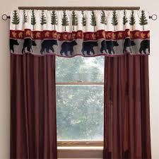 Western Curtain Rod Holders by Moose U0026 Tree Curtain Rod Holder With Rod Cabin Place