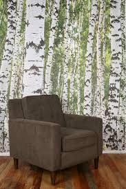 wallpaper tree wallpaper misty clearing forest mural wallpaper
