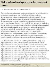 daycare teacher resume special educator resume cheap cover letter