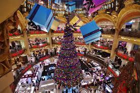 paris shopping mall