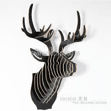Christmas Decorations Reindeer Head by Popular Head Reindeer Buy Cheap Head Reindeer Lots From China Head