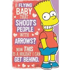 simpsons valentines day card 10 best images on the simpsons day