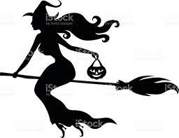halloween dance clipart halloween witch pumpkin silhouette clip art vector images