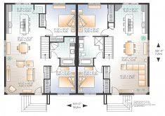 house plans for two families home design ideas