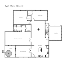 draw a floor plan exle of floor plan drawing homes floor plans