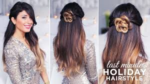 easy to keep hair styles cute and easy hairstyle youtube