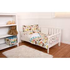 little bedding by nojo woodlands 4 piece toddler bedding set