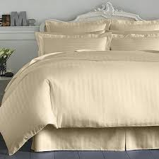 Duvet Club Charter Club Damask Stripe 500 Thread Count Full Bedskirt Natural