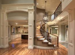 gorgeous open floor plan u0026 spiral staircase home ideas