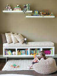 Bookcase Bench Ikea Bookshelf Turned Into Bench For Kids Playroom Ikea Expedit