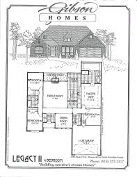 Woodland Homes Floor Plans by Gibson Homes
